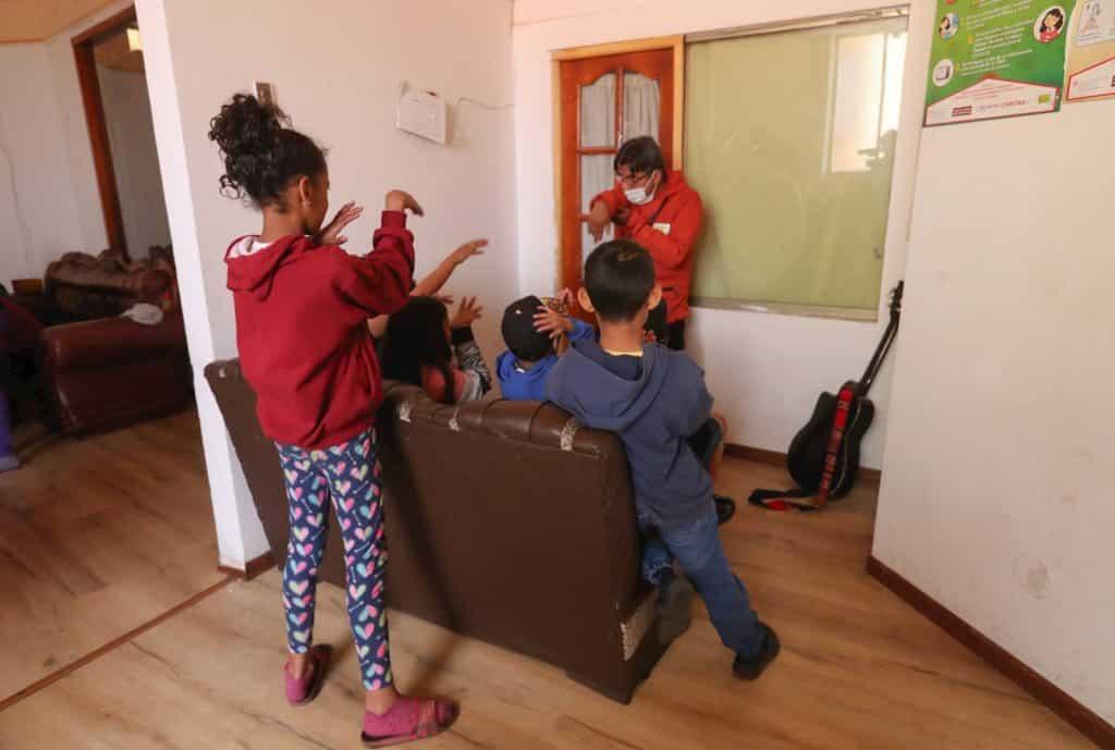 Niños venezolanos en Bolivia