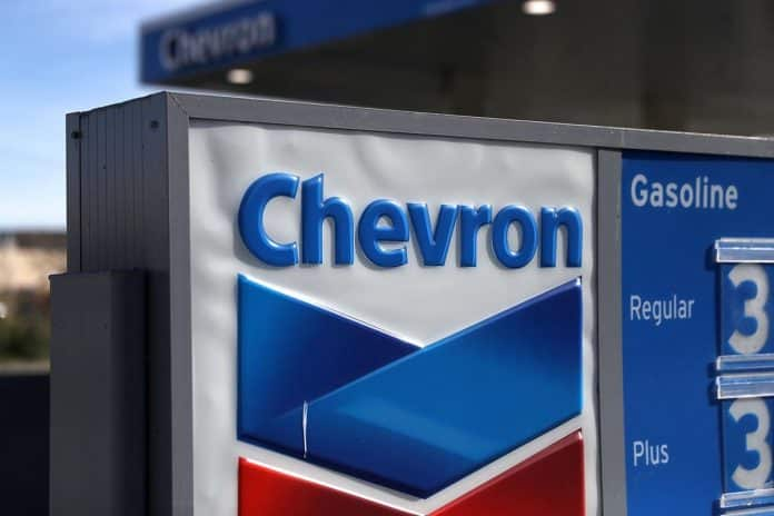 Chevron obtuvo la licencia esta semana